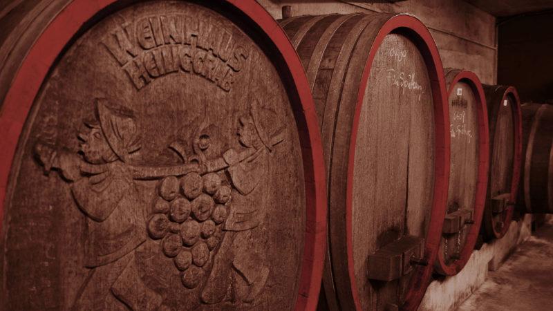 Weinhaus Heilig Grab Boppard Weinfässer